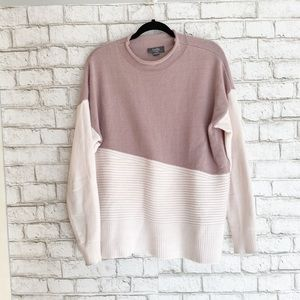 Belldini Mock Neck Ribbed Soft Knit Sweater XL